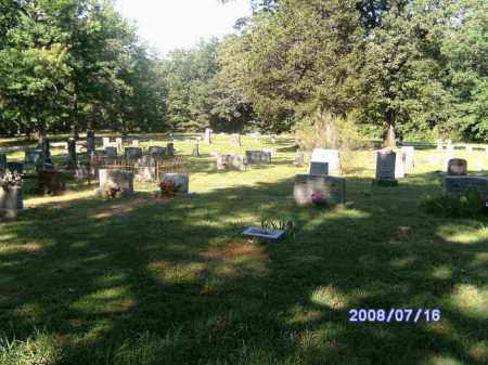 *CHARLOTTE CEMETERY OVERVIEW,  - Independence County, Arkansas |  *CHARLOTTE CEMETERY OVERVIEW - Arkansas Gravestone Photos