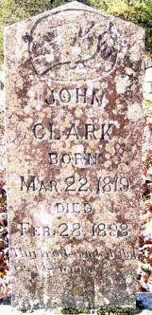 CLARK, JOHN - Independence County, Arkansas | JOHN CLARK - Arkansas Gravestone Photos