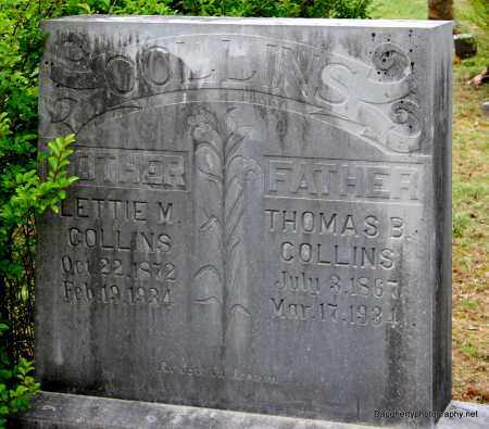 COLLINS, LETTIE - Independence County, Arkansas | LETTIE COLLINS - Arkansas Gravestone Photos