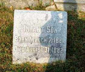 COOK, INFANT SON - Independence County, Arkansas | INFANT SON COOK - Arkansas Gravestone Photos
