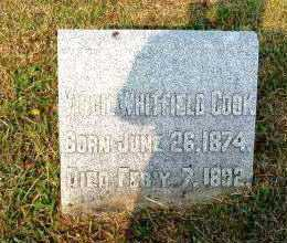 COOK, VIRGIL WHITFIELD - Independence County, Arkansas | VIRGIL WHITFIELD COOK - Arkansas Gravestone Photos