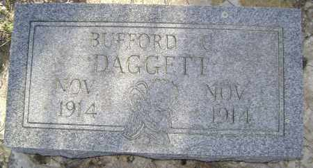 DAGGETT, BUFFORD C. - Independence County, Arkansas | BUFFORD C. DAGGETT - Arkansas Gravestone Photos