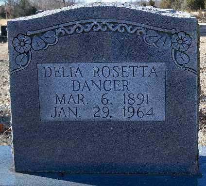 DANCER, DELIA ROSETTA - Independence County, Arkansas | DELIA ROSETTA DANCER - Arkansas Gravestone Photos