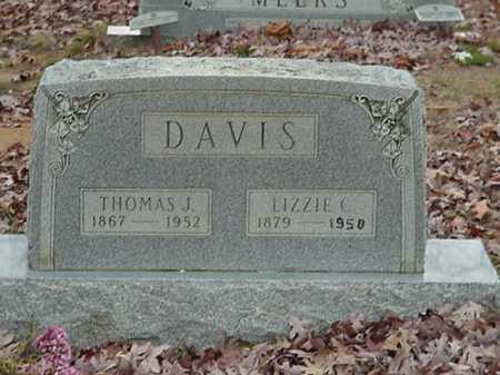 DAVIS, THOMAS JEFFERSON - Independence County, Arkansas | THOMAS JEFFERSON DAVIS - Arkansas Gravestone Photos