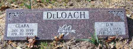DELOACH, D W - Independence County, Arkansas | D W DELOACH - Arkansas Gravestone Photos