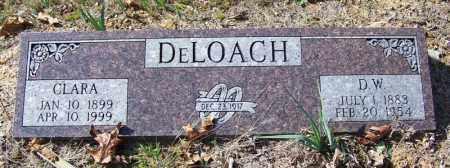 DELOACH, D W - Independence County, Arkansas | D W DELOACH - Arkansas Gravestone Photos