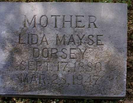 MAYSE DORSEY, LIDA - Independence County, Arkansas | LIDA MAYSE DORSEY - Arkansas Gravestone Photos