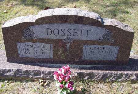 DOSSETT, GRACE A - Independence County, Arkansas | GRACE A DOSSETT - Arkansas Gravestone Photos