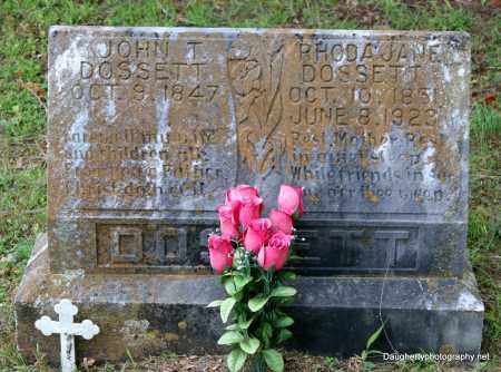 DOSSETT, JOHN - Independence County, Arkansas | JOHN DOSSETT - Arkansas Gravestone Photos