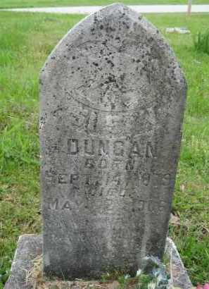 DUNCAN, SUSAN - Independence County, Arkansas | SUSAN DUNCAN - Arkansas Gravestone Photos