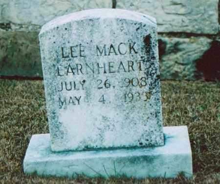 EARNHEART, LEE MACK - Independence County, Arkansas | LEE MACK EARNHEART - Arkansas Gravestone Photos