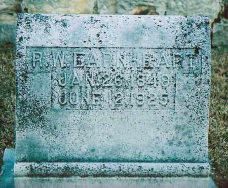 EARNHEART, ROBERT W. - Independence County, Arkansas | ROBERT W. EARNHEART - Arkansas Gravestone Photos