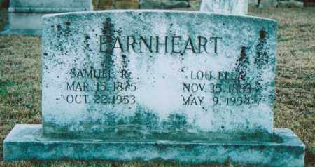 BARNES EARNHEART, LOU ELLA - Independence County, Arkansas | LOU ELLA BARNES EARNHEART - Arkansas Gravestone Photos