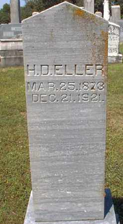 ELLER, H.D. - Independence County, Arkansas | H.D. ELLER - Arkansas Gravestone Photos