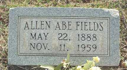 FIELDS, ALLEN ABRAHAM - Independence County, Arkansas | ALLEN ABRAHAM FIELDS - Arkansas Gravestone Photos