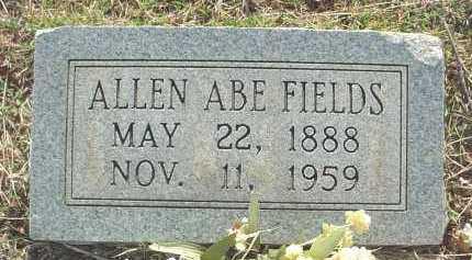 FIELDS, ALLEN ABRAHAM - Independence County, Arkansas | ALLEN ABRAHAM FIELDS - Arkansas Gravestone Photos