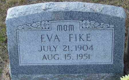 FIKE, EVA - Independence County, Arkansas | EVA FIKE - Arkansas Gravestone Photos