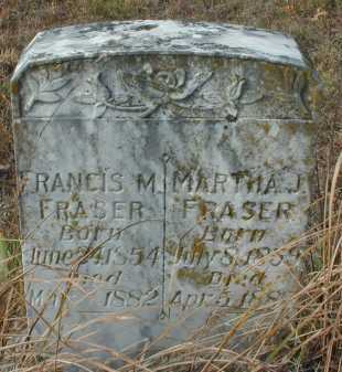 FRASER, FRANCIS M. - Independence County, Arkansas | FRANCIS M. FRASER - Arkansas Gravestone Photos