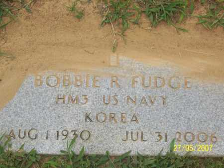 FUDGE (VETERAN KOR), BOBBIE R - Independence County, Arkansas | BOBBIE R FUDGE (VETERAN KOR) - Arkansas Gravestone Photos
