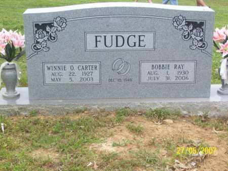 CARTER FUDGE, WINNIE O. - Independence County, Arkansas | WINNIE O. CARTER FUDGE - Arkansas Gravestone Photos