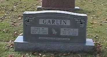 "GARLIN, MARY ELIZABETH ""LIZZIE"" - Independence County, Arkansas 
