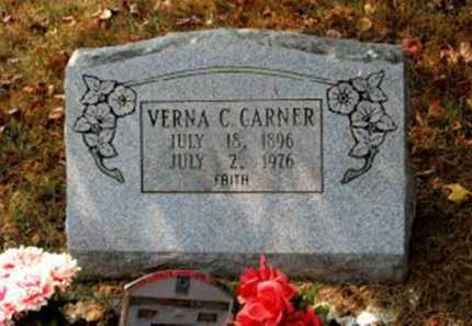 CARTER GARNER, VERNA - Independence County, Arkansas | VERNA CARTER GARNER - Arkansas Gravestone Photos
