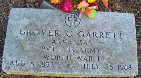 GARRETT (VETERAN WWI), GROVER C - Independence County, Arkansas | GROVER C GARRETT (VETERAN WWI) - Arkansas Gravestone Photos