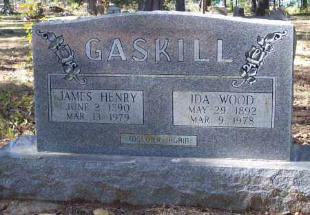 GASKILL, IDA S - Independence County, Arkansas | IDA S GASKILL - Arkansas Gravestone Photos