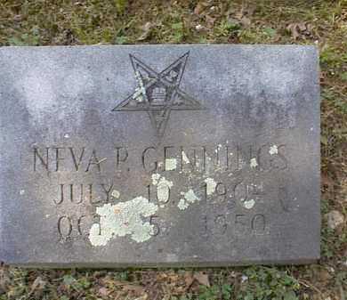 GENNINGS, NEVA P. - Independence County, Arkansas   NEVA P. GENNINGS - Arkansas Gravestone Photos
