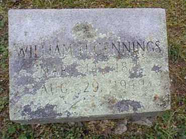 GENNINGS, WILLIAM H. - Independence County, Arkansas | WILLIAM H. GENNINGS - Arkansas Gravestone Photos