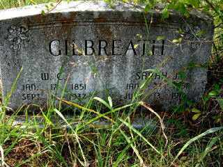 GILBREATH, SARAH J. - Independence County, Arkansas | SARAH J. GILBREATH - Arkansas Gravestone Photos