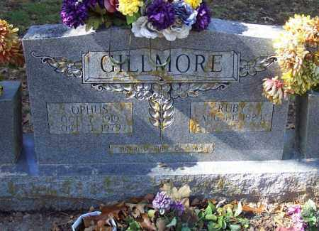 GILLMORE, OPHUS - Independence County, Arkansas | OPHUS GILLMORE - Arkansas Gravestone Photos