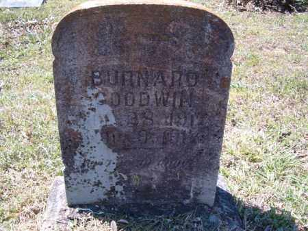 GOODWIN, BURNARD - Independence County, Arkansas | BURNARD GOODWIN - Arkansas Gravestone Photos