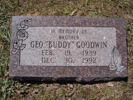 """GOODWIN, GEORGE """"BUDDY"""" - Independence County, Arkansas 