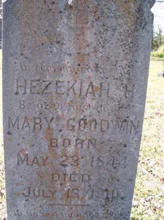 GOODWIN, HEZEKIAH H - Independence County, Arkansas | HEZEKIAH H GOODWIN - Arkansas Gravestone Photos