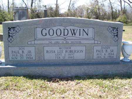 GOODWIN, PAUL B SR. - Independence County, Arkansas | PAUL B SR. GOODWIN - Arkansas Gravestone Photos