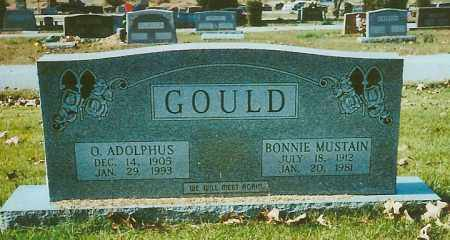 MUSTAIN GOULD, BONNIE - Independence County, Arkansas | BONNIE MUSTAIN GOULD - Arkansas Gravestone Photos