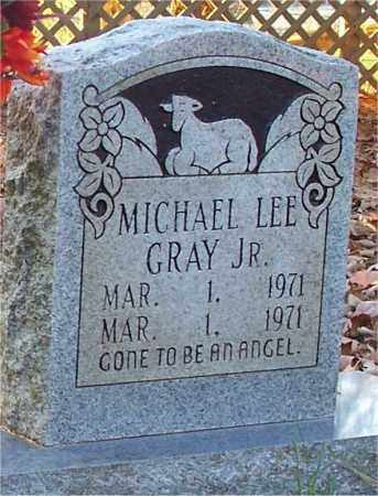 GRAY  JR, MICHAEL LEE - Independence County, Arkansas | MICHAEL LEE GRAY  JR - Arkansas Gravestone Photos