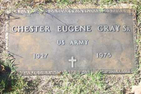 GRAY,  SR  (VETERAN), CHESTER EUGENE - Independence County, Arkansas | CHESTER EUGENE GRAY,  SR  (VETERAN) - Arkansas Gravestone Photos