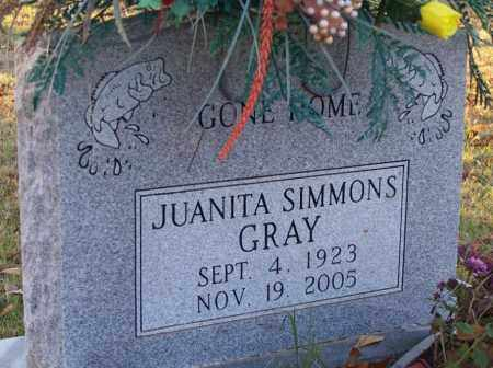 GRAY, JUANITA - Independence County, Arkansas | JUANITA GRAY - Arkansas Gravestone Photos