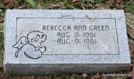 GREEN, REBECCA - Independence County, Arkansas | REBECCA GREEN - Arkansas Gravestone Photos