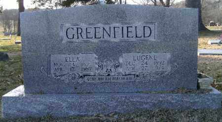 GREENFIELD, ELLA - Independence County, Arkansas | ELLA GREENFIELD - Arkansas Gravestone Photos