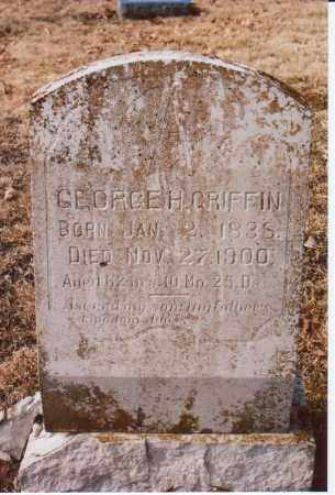 GRIFFIN, GEORGE H. - Independence County, Arkansas | GEORGE H. GRIFFIN - Arkansas Gravestone Photos