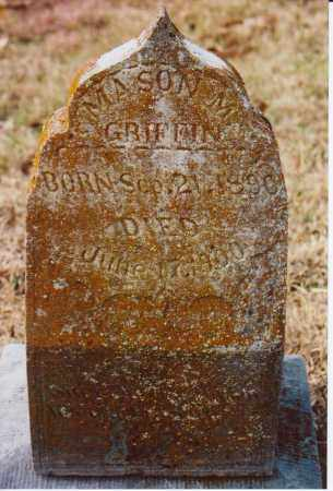 GRIFFIN, MASON M. - Independence County, Arkansas | MASON M. GRIFFIN - Arkansas Gravestone Photos