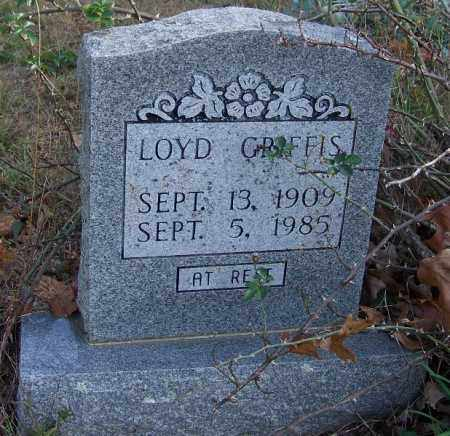 GRIFFIS, LOYD - Independence County, Arkansas | LOYD GRIFFIS - Arkansas Gravestone Photos