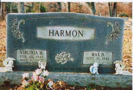 HARMON, VIRGINIA M. - Independence County, Arkansas | VIRGINIA M. HARMON - Arkansas Gravestone Photos