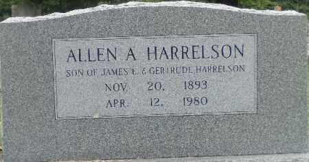 HARRELSON, ALLEN A. - Independence County, Arkansas | ALLEN A. HARRELSON - Arkansas Gravestone Photos