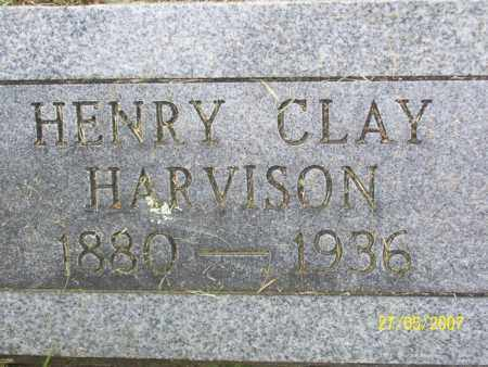 HARVISON, HENRY CLAY - Independence County, Arkansas | HENRY CLAY HARVISON - Arkansas Gravestone Photos