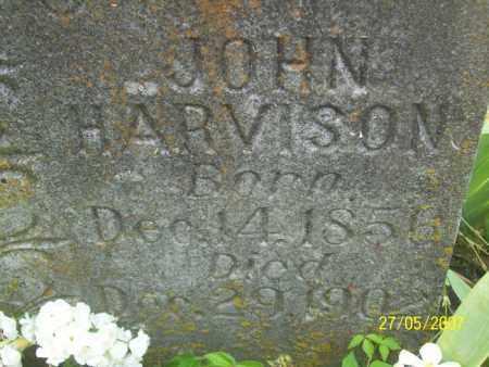 HARVISON, JOHN - Independence County, Arkansas | JOHN HARVISON - Arkansas Gravestone Photos