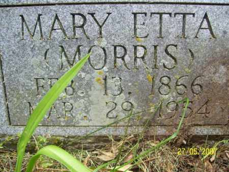 MORRIS HARVISON, MARY ETTA - Independence County, Arkansas | MARY ETTA MORRIS HARVISON - Arkansas Gravestone Photos